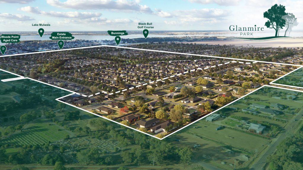 Glanmire Park Estate Map - Yarrawonga Melbourne